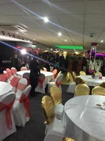 Banqueting hall hire in Tottenham, North London.