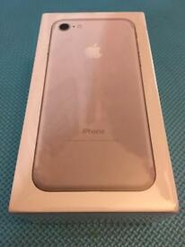 Iphone 7 256gb Brand New Sealed (silver)