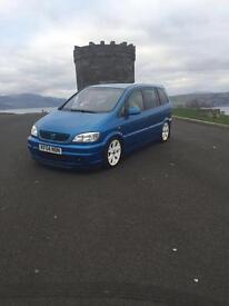 Vauxhall Zafira GSi z20let may swap
