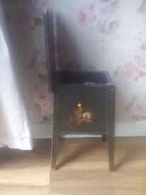 Vintage oriental sewing box