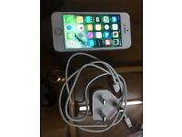 Iphone 5s Silver Unlocked Good Condition