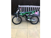 KIDS BIKE FOR SALE FOR SPARES OR REPAIR - MOTORBIKE STYLING
