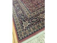 Virgin wool rug