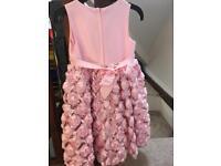 Cinderella baby pink puff ball dress age 6 Year's