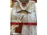 Brand new Pierre Cardin shirts originally £34.99