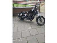 125cc chopper bobber for sale