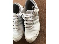 Size 7 ladies adidas non marking trainers