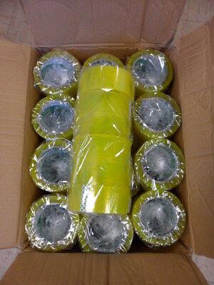 72 Rolls Box Carton Shipping Packing Adhesive Tape 110 Yards330 Ft