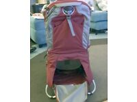 Osprey Poco Plus Child Carrier - red - excellent condition