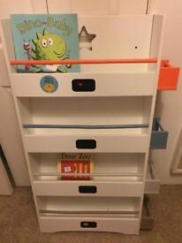 Cool boys book rails/storage