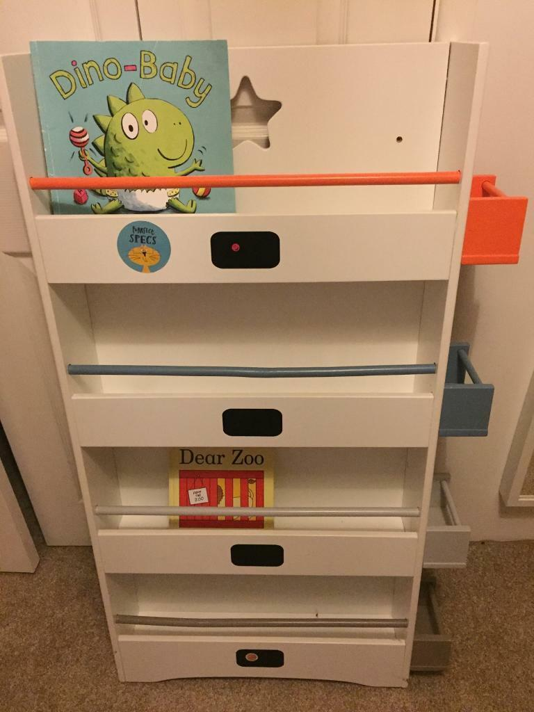 Cool boys book rails/storage