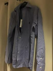 Brand new blue Ralph Lauren shirt (medium)