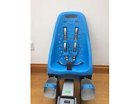 Yepp Maxi Childseat and Seat Post- Blue