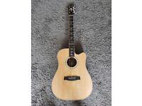 Hagstrom Dalana electro acoustic guitar