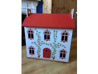 Dolls house and contents for sale