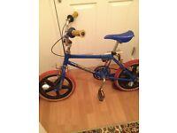 bike . Raliegh Mini Burner . 1980s