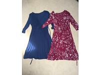 Maternity wrap around dresses size 12