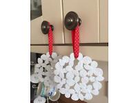 4 New metal hanging ornaments