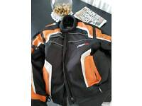 tuzo men's motorcycle jacket