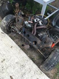 Austin mini engine