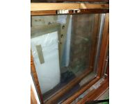 2 X Large Velux style Windows . Flashing for slate roof included. Need a quick sale
