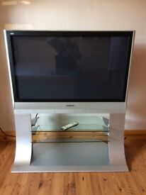 42 inch Panasinic Plasma screen Television in Brushed Silver