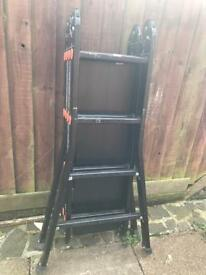 Pinnacle Pro Adjustable Ladder
