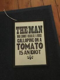 Tomato Print with frame