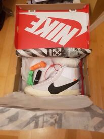 Nike X Off White Blazer Mid £350 UK 10/US 11 Brand New, DS