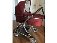 Mamas & Papas Urbo2 Rust / Chrome travel system- Excellent condition!!!!