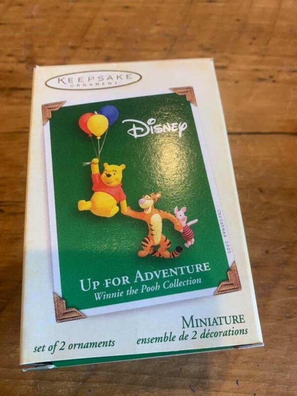 Hallmark Keepsake Ornament Miniature Disney Up for Adventure Mini 2005 Pooh