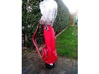Wilson Golf Bag & clubs