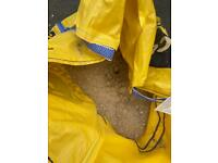 Free - 1/3 bag of jumbo bag of mot / crush n run for a driveway