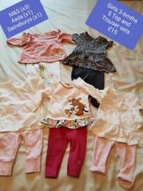 Girls 3-6mths bundle 1