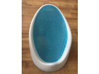 Angelcare baby bath seat - Blue - great condition £5