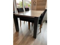 Upcycled Homebase solid oak table