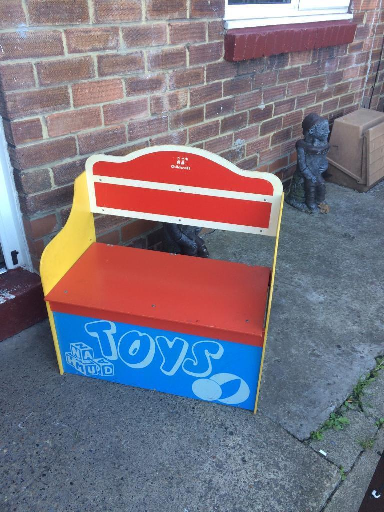 Kids wooden toyboxin Trimdon Station, County DurhamGumtree - Used condition ,no offers and pickup only,first come first served ,no more time wasters