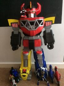 Power Rangers Megasord with accessories