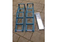 2 ton car ramps with extensions