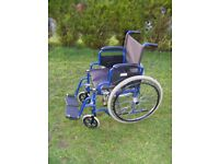 CAN DELIVER - WHEELCHAIR IN VERY GOOD CONDITION