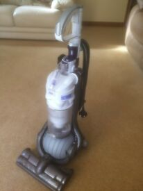 Refurbished Dyson DC24 in white/purple/steel - fully stripped, cleaned and serviced, inc. new filter
