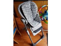 Joie Mimzy LX High Chair, good condition, with all attachments. RRP £99, will take £30
