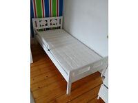 kids bed, KRITTER Bed frame and mattress