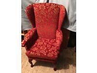 HSL Helmsley Grande Fireside Chair