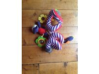 Baby spiral toy for car seat