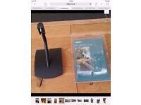 BOSE UTS-20 W (UT20) ORIGINAL SPEAKER TABLE STAND BRACKET Black