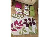 Rug, cushions, painting, picture