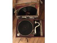 In working order : vintage wind up gramophone