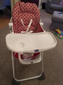 Chico pocket high chair