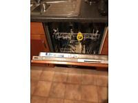 Zanussi integrated dishwasher Zdt 312